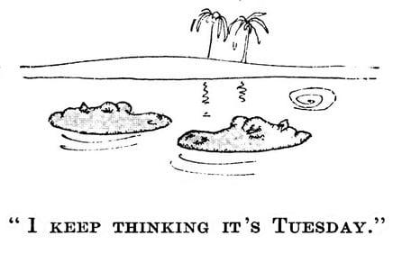 I Keep Thinking It's Tuesday